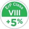 ErP Classe VIII +5%